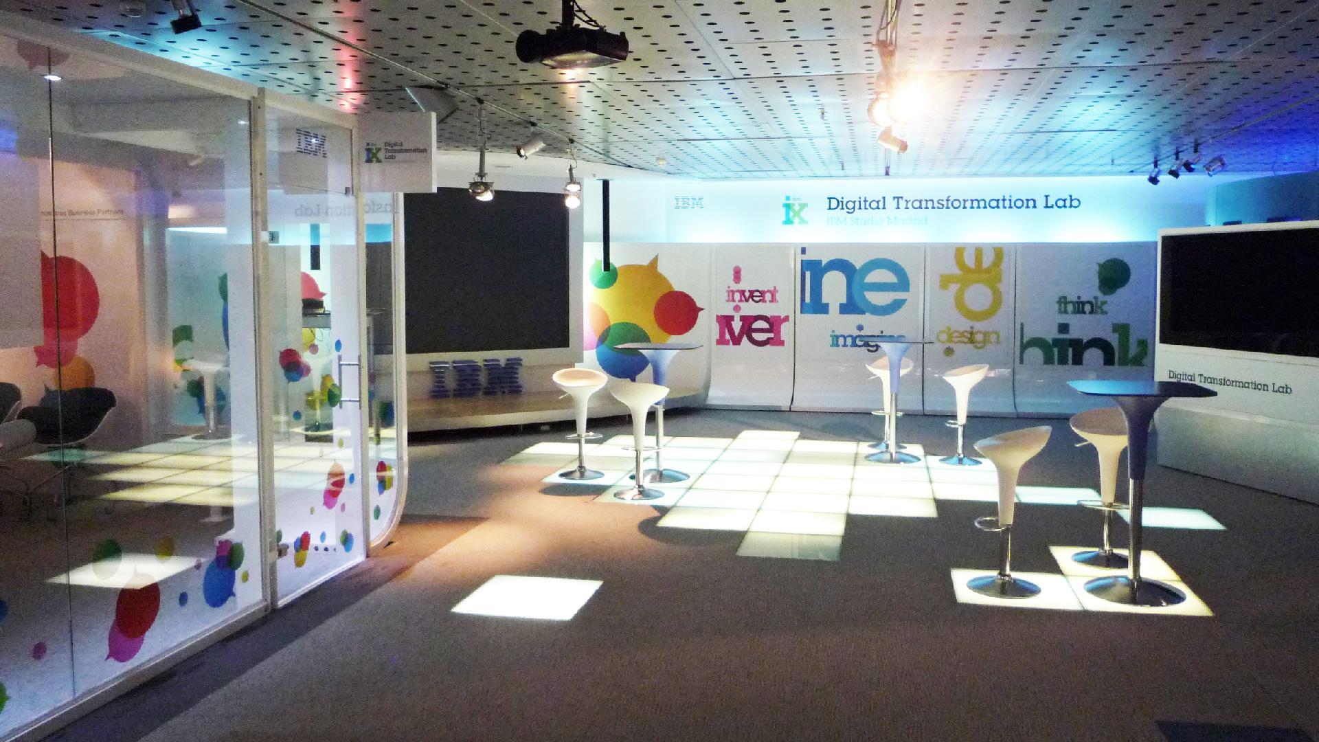 Interiorismo ibm digital transformation hub madrid el - Interiorismo madrid ...