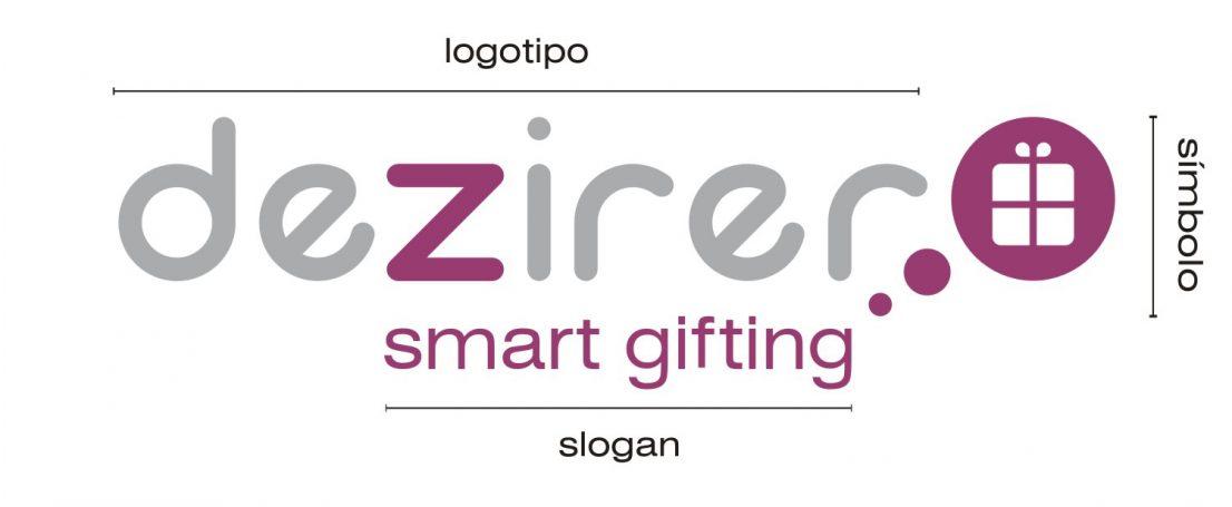 Dezirer logo identidad visual imagen corporativa