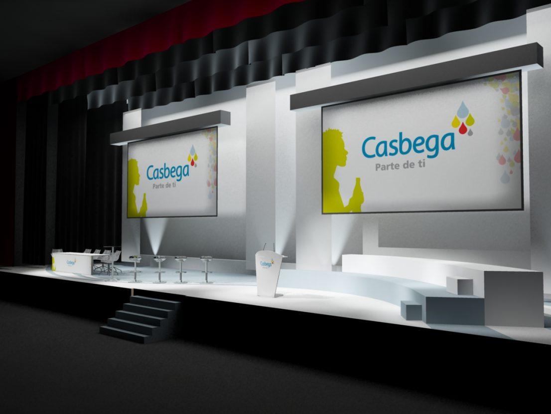 Escenografia convencion Casbega 2008