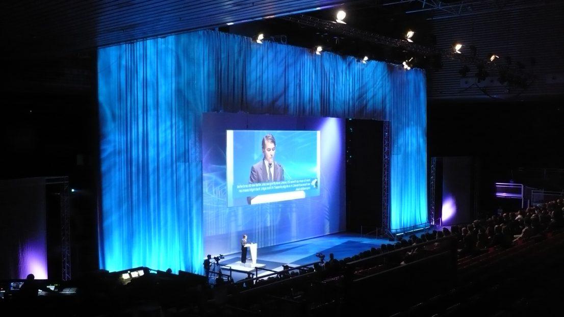Escenografia evento ITP Bilbao escenario
