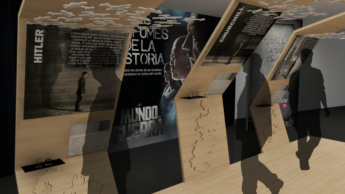 Exposicion World Wars Canal de Historia
