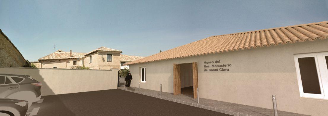 Exterior proyecto Museo del Real Monasterio de Santa Clara