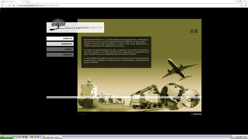 Diseno web Iberian Global Exports