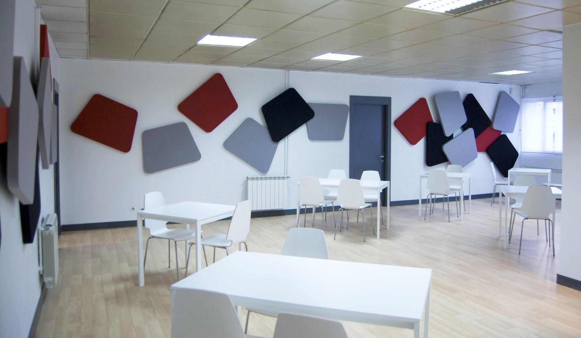 Interiorismo oficinas Saint Gobain Wanner (3) • El Diseñosaurio