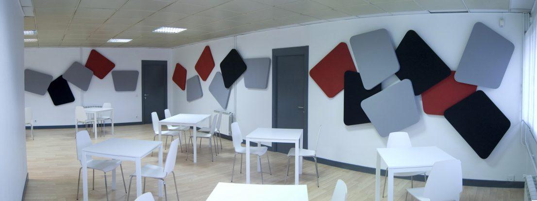 Interiorismo oficinas Saint Gobain Wanner