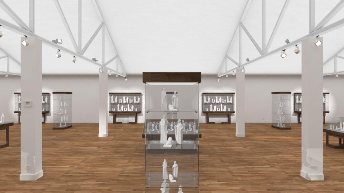Proyecto de interiorismo Museo del Real Monasterio de Santa Clara
