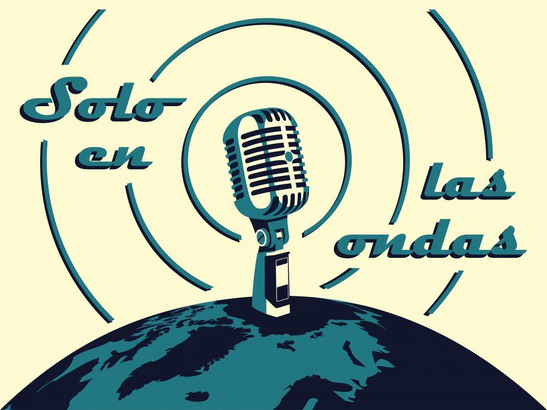 Logo programa de radio Solo en las Ondas