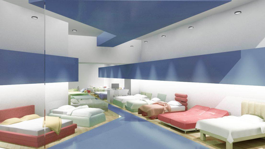 Proyecto interiorismo tiendas franquicia Blue Nights