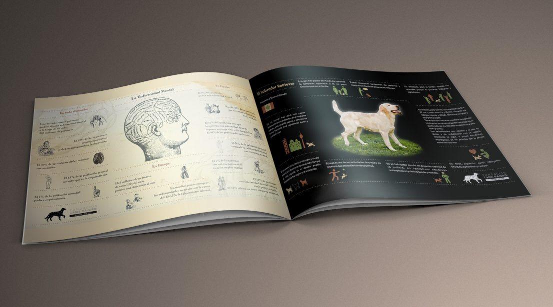 Infografias Canis Majoris terapia asistida animales