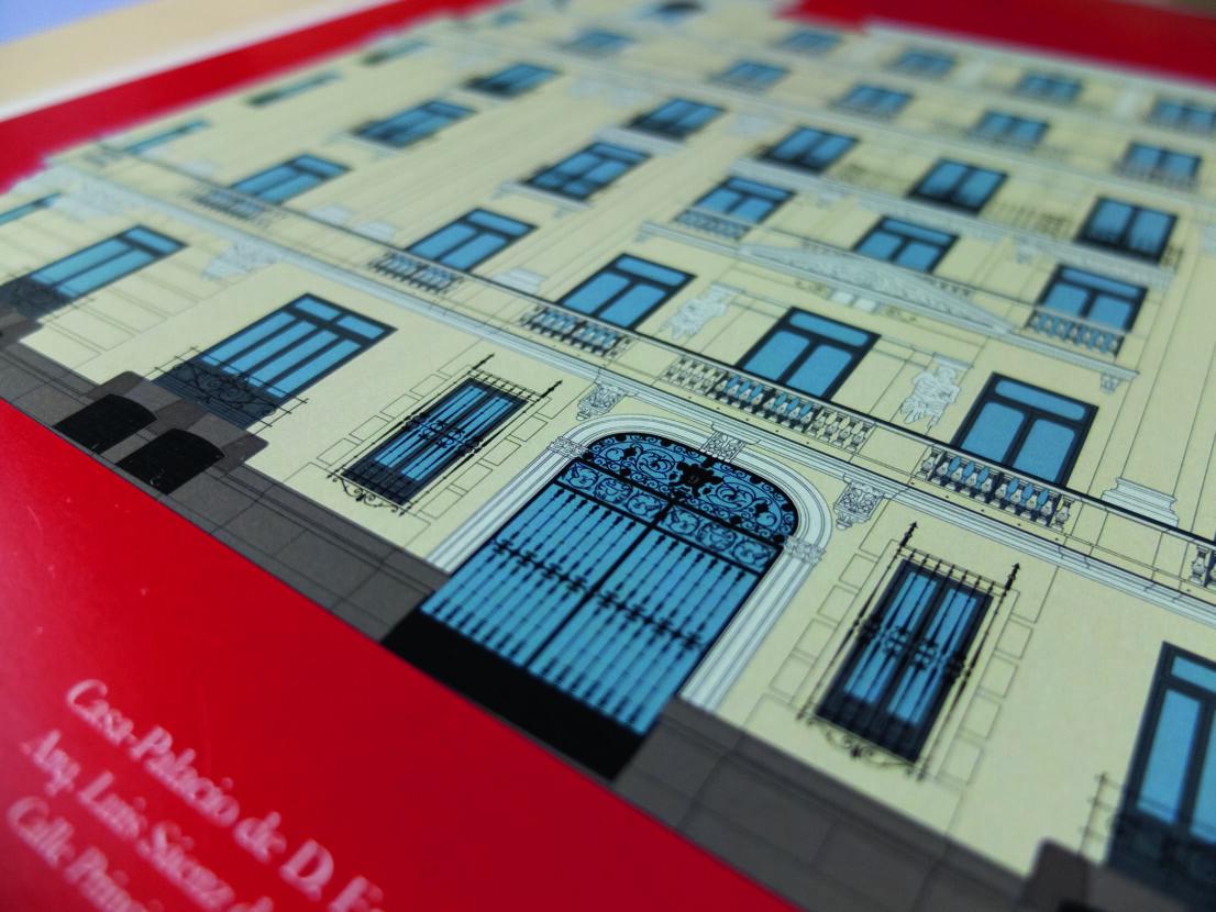 lamina-ilustracion-arquitectonica-fachada-edificio-casa-palacio-enrique gosalvez